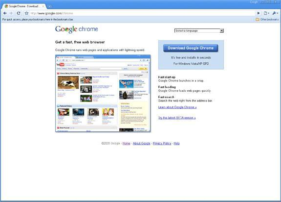 Introducing Google Chrome 3.0