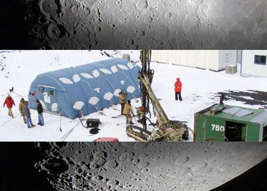 Inflatable Lunar Habitat: