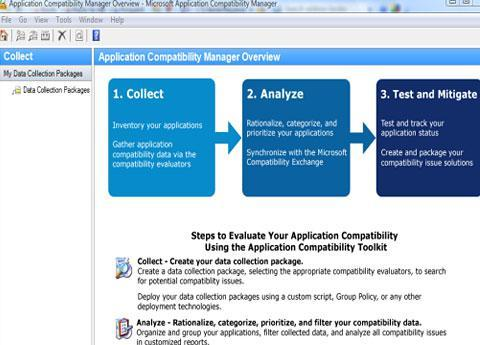 The Microsoft Application Compatibility Toolkit