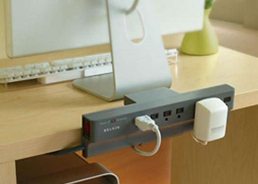 Belkin\'s Clamp-On Surge Protector