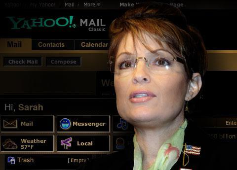 Palin's e-mail hacked