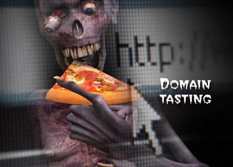 Domain tasting