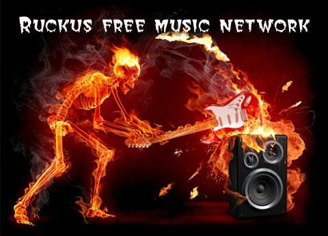 Ruckus free music network