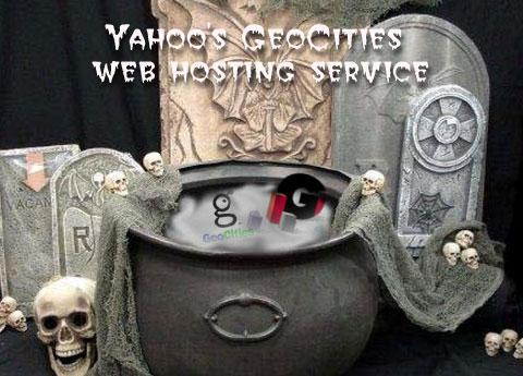 Yahoo's GeoCities Web hosting service