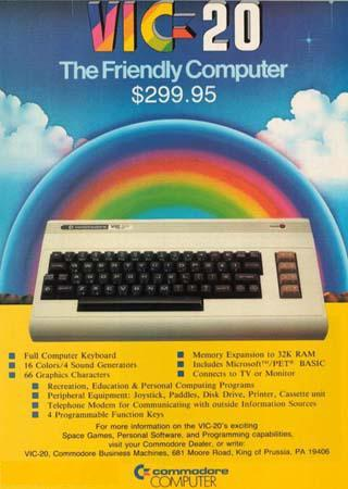Vic-20 Friendly Computer