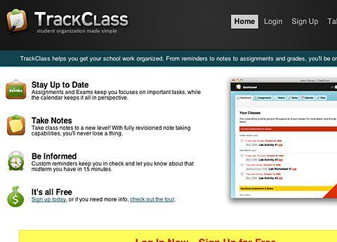 Winner, most complete: TrackClass