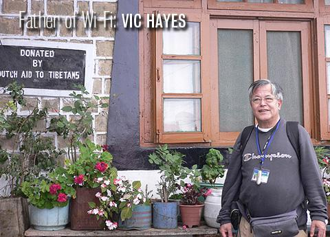 Father of Wi-Fi: Vic Hayes