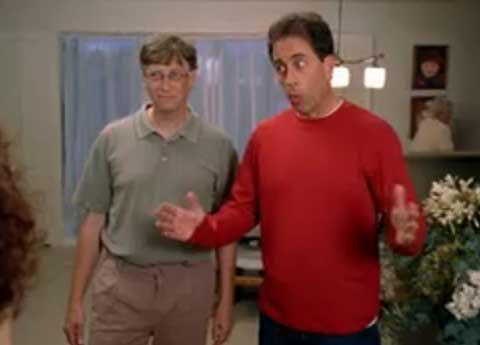 Microsoft: Seinfeld, we hardly knew ye