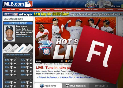 Silverlight strikes out with Major League Baseball