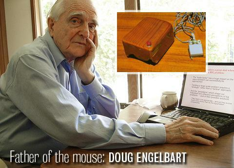 Father of the mouse: Doug Engelbart