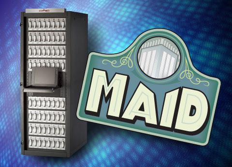 Get a MAID (storage system, that is)