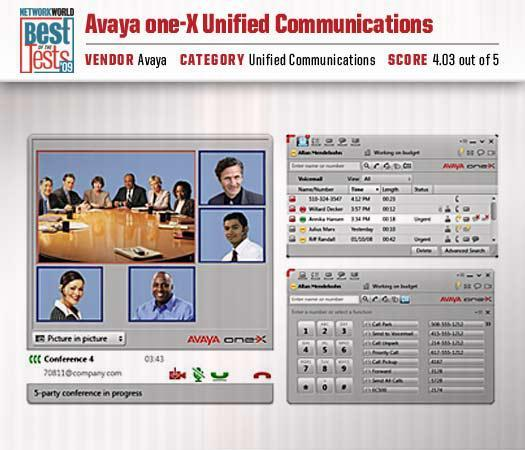 Avaya's one-X Unified Communications