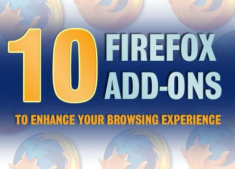 10 Firefox add-ons to enhance your browsing experience