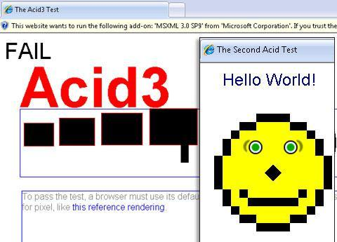 IE 8 on Acid