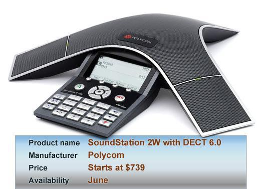 Polycom's SoundStation 2W with DECT 6.0