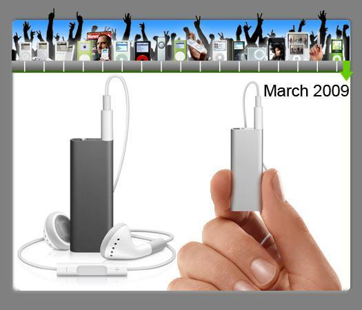 New iPod Shuffle: Even smaller, and it talks back to you