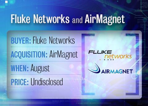 Fluke buys AirMagnet