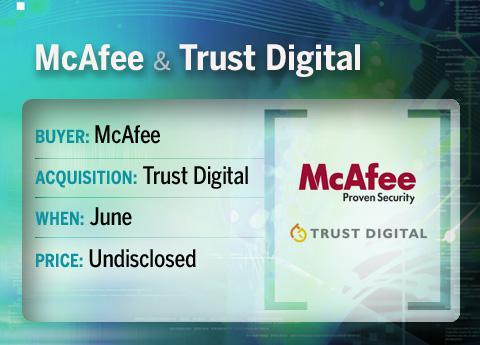 McAfee buys Trust Digital
