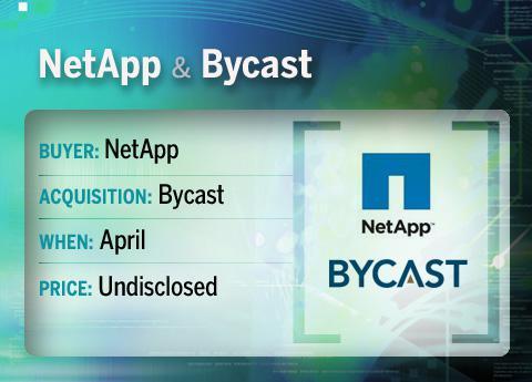 NetApp buys Bycast