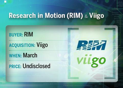 RIM buys Vigio