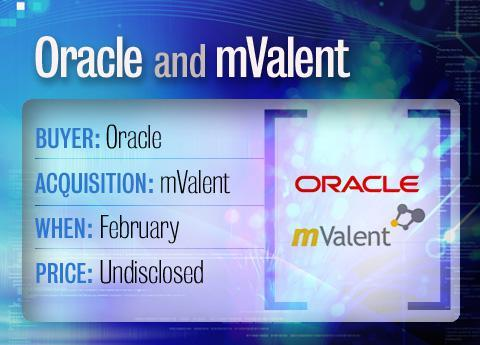Oracle buys mValent
