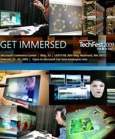Microsoft Research's annual TechFest