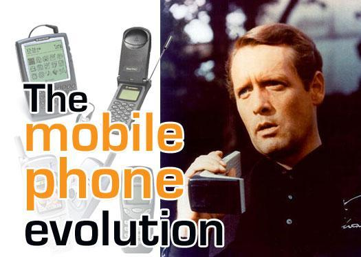 the evolution of the mobile phone