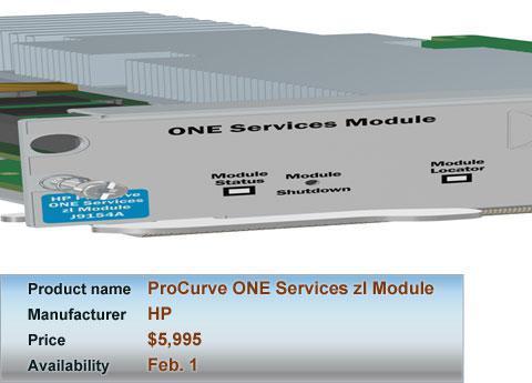 HP\'s ProCurve ONE Services zl Module