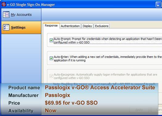 Passlogix v-GO® Access Accelerator Suite
