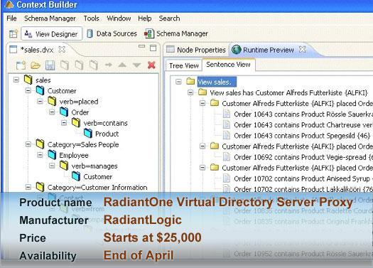 RadiantOne Virtual Directory Server Proxy Edition 5.1