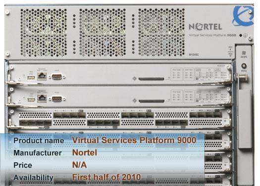 Nortel's Virtual Services Platform 9000