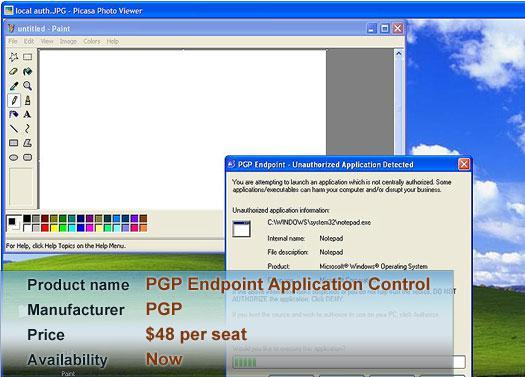 PGP Endpoint Application Control