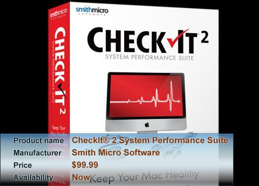 Smith Micro Software's CheckIt® 2 System Performance Suite