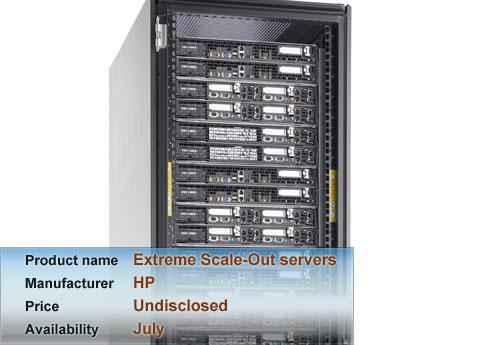 HP's Extreme Scale-Out servers