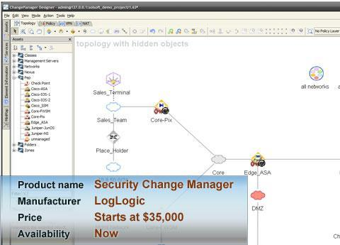 LogLogic's Security Change Manager