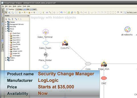 LogLogic's Security Change Manager