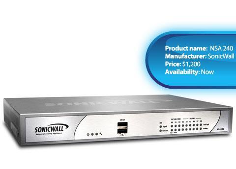 SonicWall NSA 240