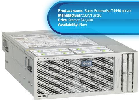 Sun/Fujitsu Sparc Enterprise T5440 server