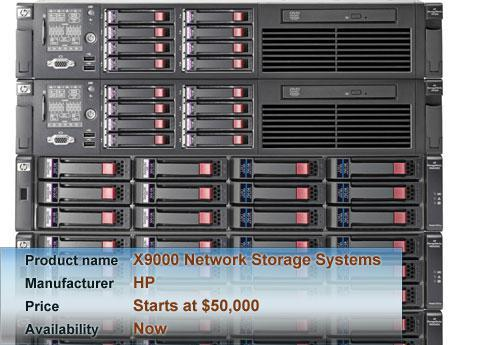 HP\'s X9000 Network Storage Systems