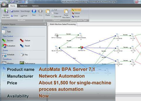 Network Automation AutoMate BPA Server 7.1
