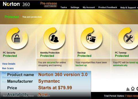 Norton 360 version 3.0