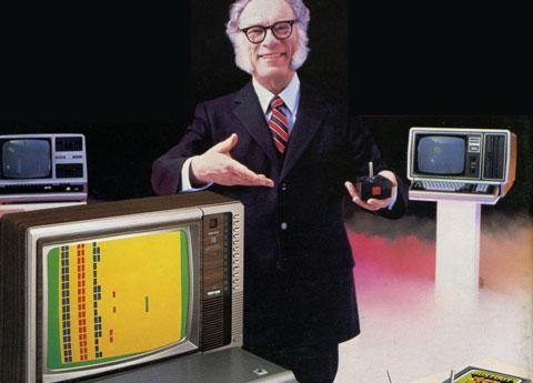 Isaac Asimov and the futuristic TRS-80