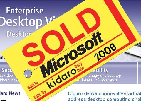 Microsoft and Kidaro
