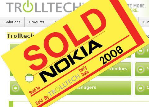 Nokia and Trolltech