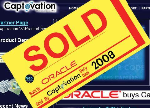 Oracle and Captovation