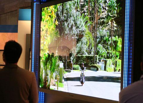 Panasonic's 150-inch plasma TV