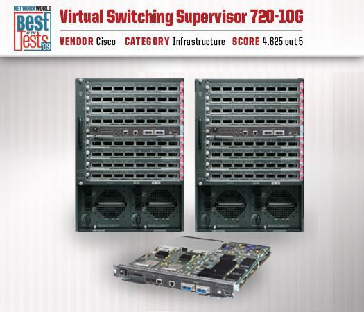 Cisco's Virtual Switching Supervisor 720-10G