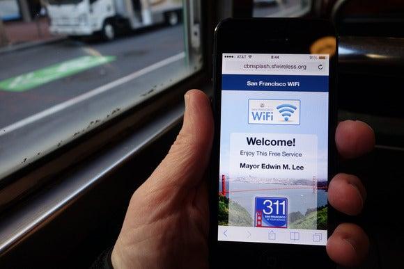 Market Street Wi-Fi splash