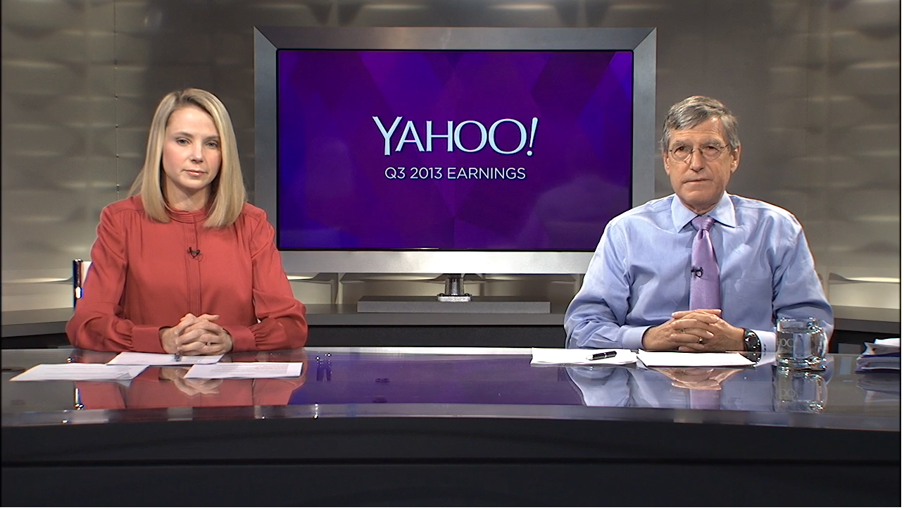 Marissa Mayer and Ken Goldman