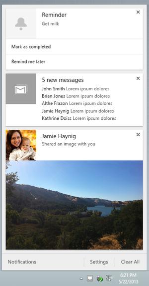 Chrome notifications (2)